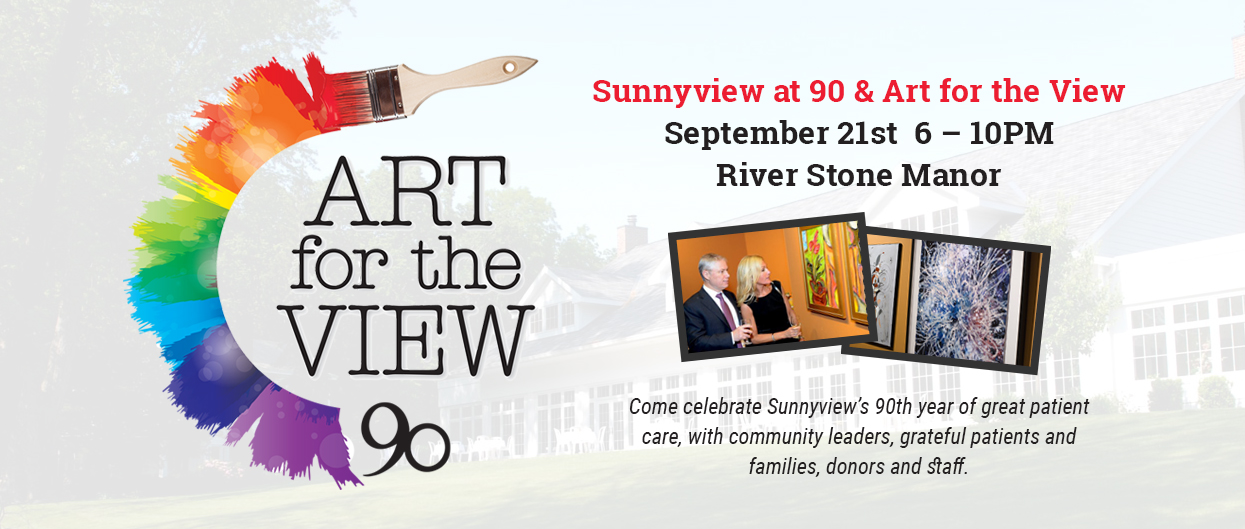 Sunnyview at 90 & Art for the View - September 21st 6 – 10PM - River Stone Manor